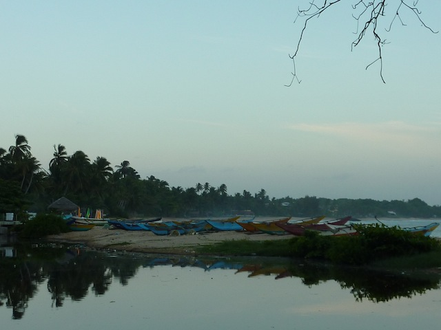 la langune de Tangalle au Sri Lanka