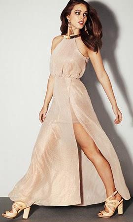 vestidos para vestir de noche H&M verano 2014