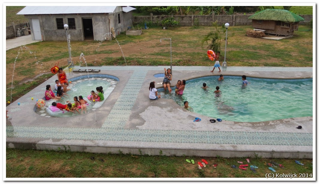 Pensionado in the philippines swimming pool re construction for Pool design regrets