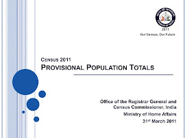 PROVISIONAL POPULATION TOTALS 2011