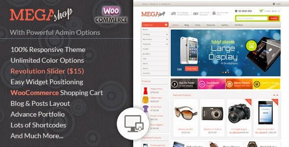 Mega Shop – WooCommerce Responsive Theme