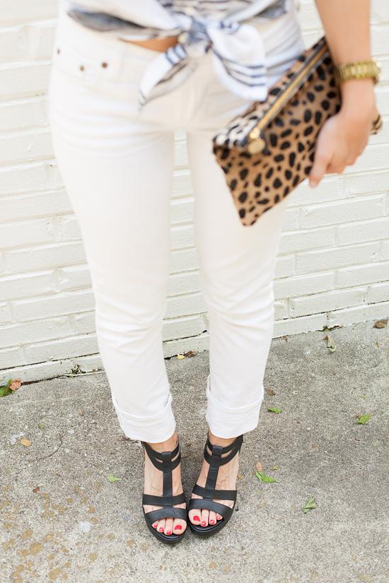 white jeans for Summer