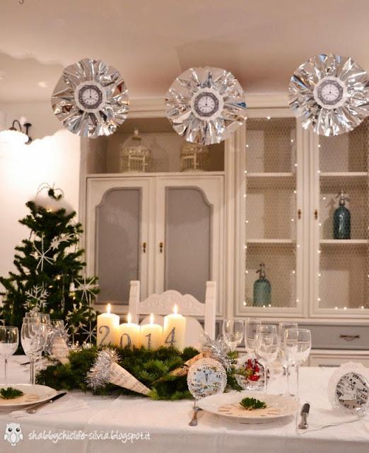 decorazioni per cenone di capodanno