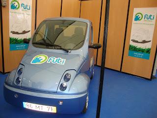 Primeiro Carro Eletrico Português - Feira de Maio - Leiria