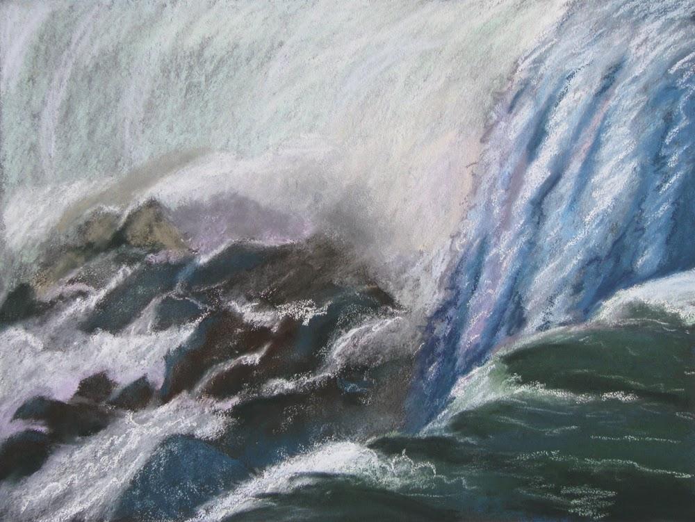Roiling, Niagara,waterfalls