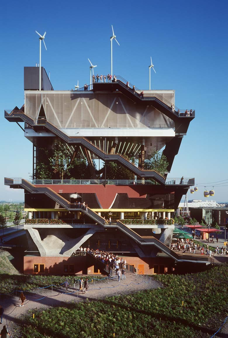 Un grounded architecture research precedent mvrdv expo 2000 pavilion - Exposition universelle hanovre ...