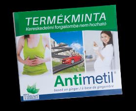 Antimetil étrend-kiegészítő AJÁNDÉK 6 db-os termékminta!