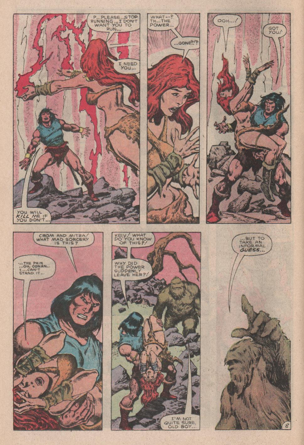Conan the Barbarian (1970) Issue #178 #190 - English 9