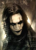 Brandon Lee como O Corvo (The Crow)