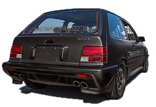Custom bumper belakang Suzuki Forsa
