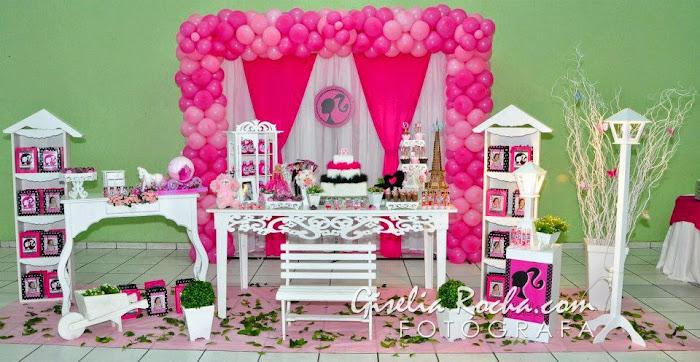 Decoração Barbie Moda e Magia Provençal