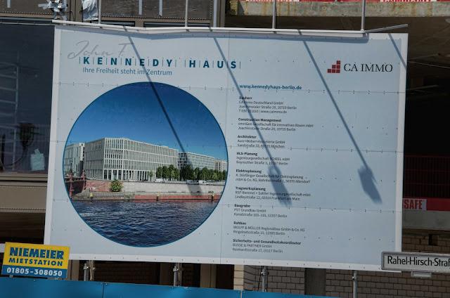 Baustelle Kennedy Haus, Ella-Trebe-Straße 98, 10557 Berlin, 04.07.2014