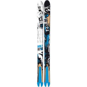 Reverse Camber Ski