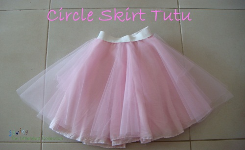 The Circle Skirt Tutu by Sewing the Littleheart Collection