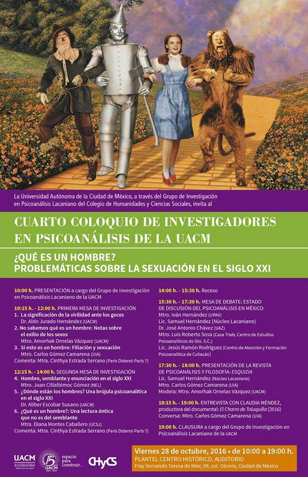 Coloquio de investigadores en psicoanálisis de la UACM