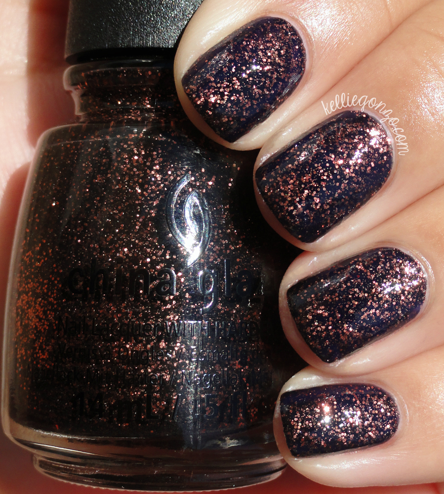 This Combo Of Thick Top Coat Wrangled In The Texture And Made It Glass Like Ive Seen Swatches Without Its Just As Lovely With