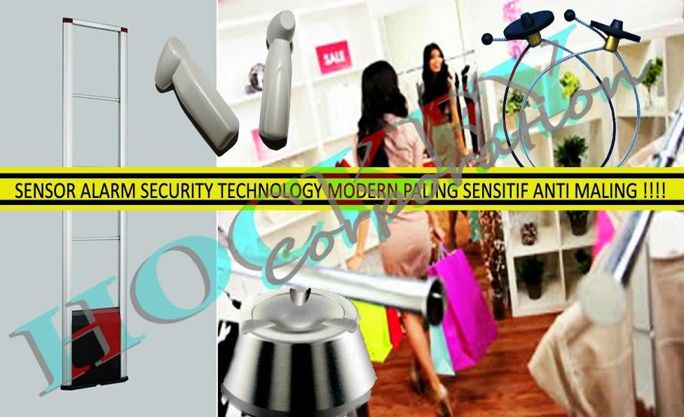 Sensor alarm security,sensor alarm toko baju butik - sensor alarm supermarket