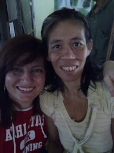 Her daughter also has Hansen's disease (Leprosy), but there is always such joy on her face..