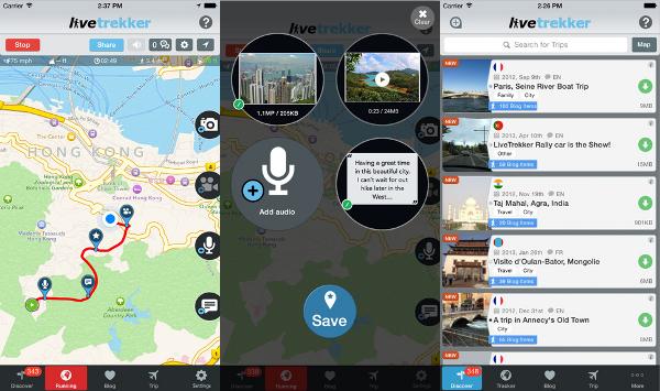 App LiveTrekker