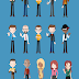 Set Elementos para Crear Personajes gratis