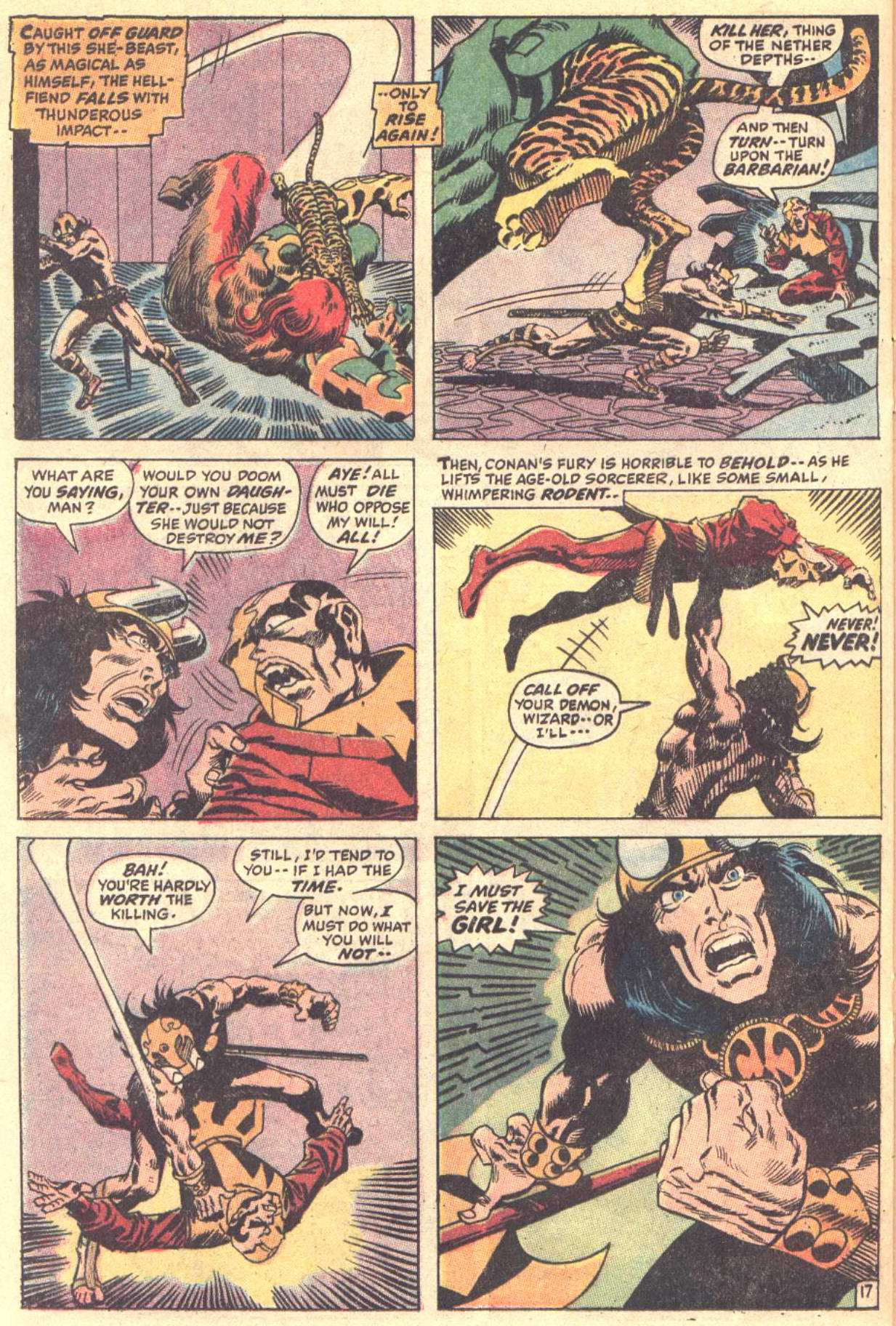 Conan the Barbarian (1970) Issue #5 #17 - English 18