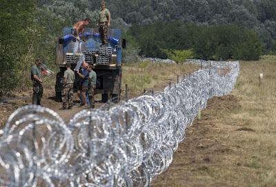 Ausztria, osztrák-szlovén határ, határkerítés, migráció, illegális bevándorlás, műszakai határzár, Johanna Mikl-Leitner