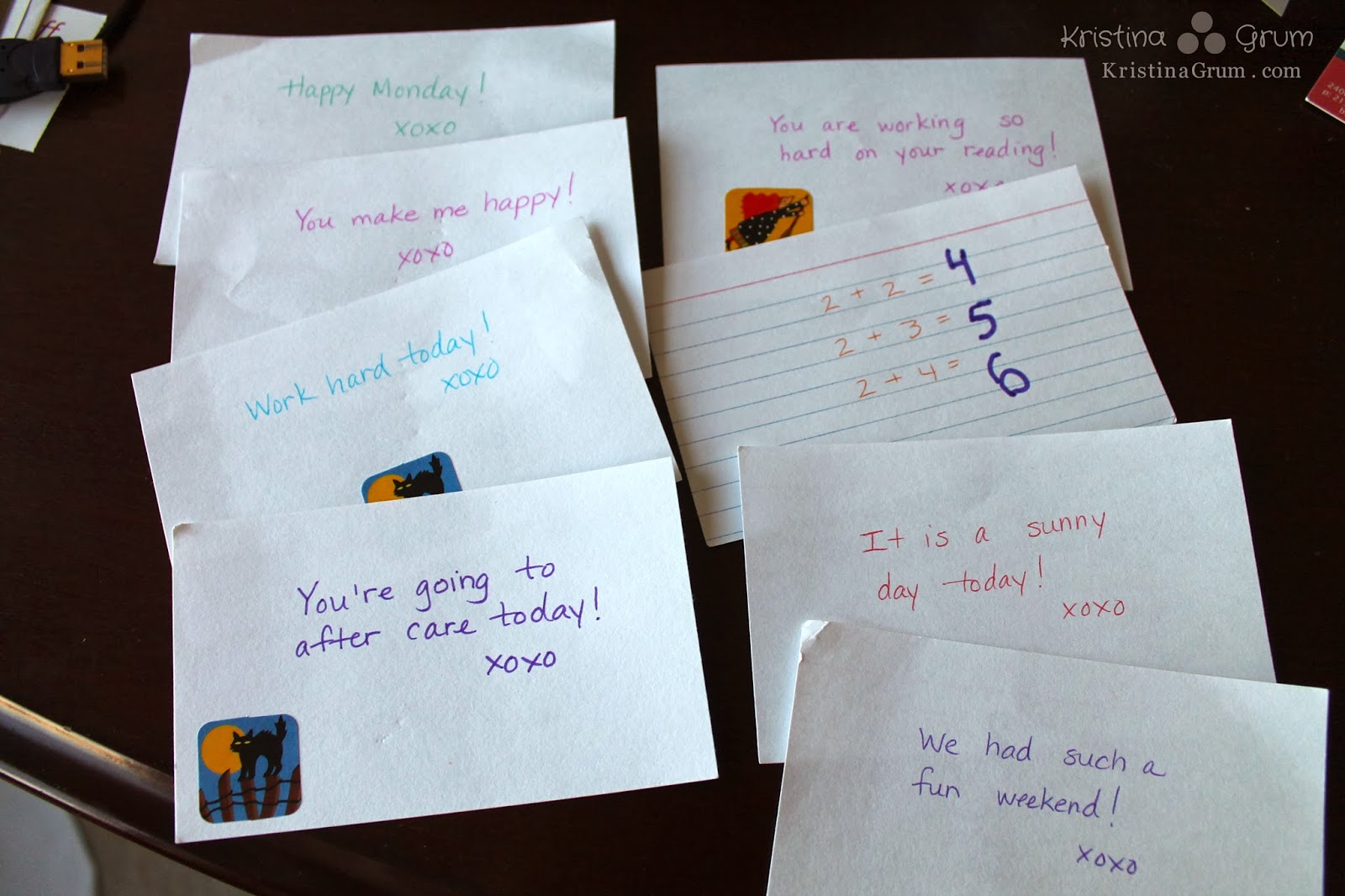 Lunch time love notes - Thriving Parents