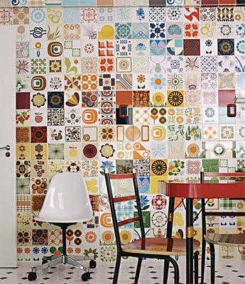 Moda deco azulejos retro para tu cocina - Azulejos rectificados cocina ...