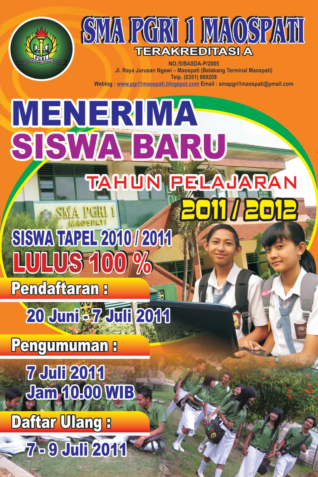 contoh-contoh sekolah brosur SMA