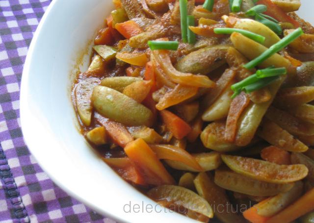tindora kovakkai curry