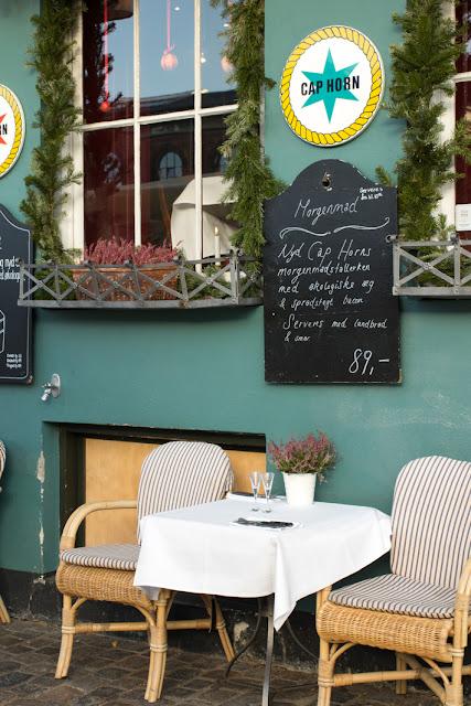 Amalie loves Denmark Restaurant Cap Horn Nyhavn Kopenhagen