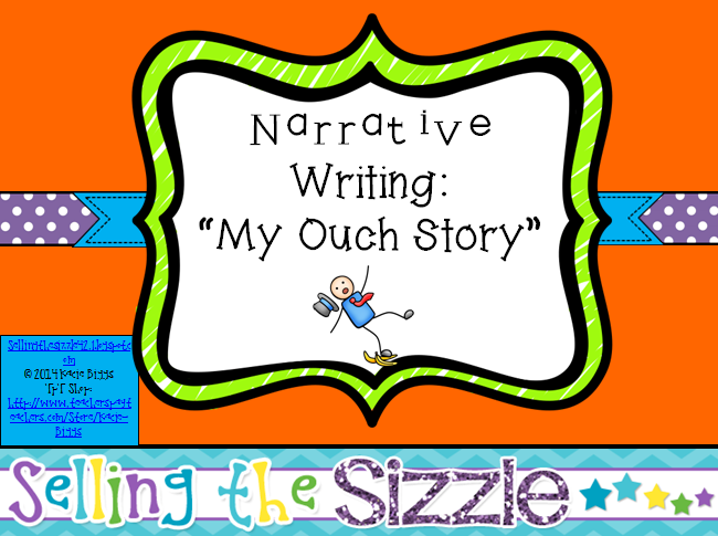 http://www.teacherspayteachers.com/Product/Personal-Narrative-Writing-My-Ouch-Story-1134280