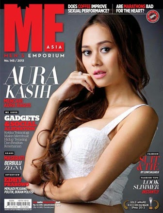 ME Asia Edisi 145 Th.2013, Cover Aura kasih