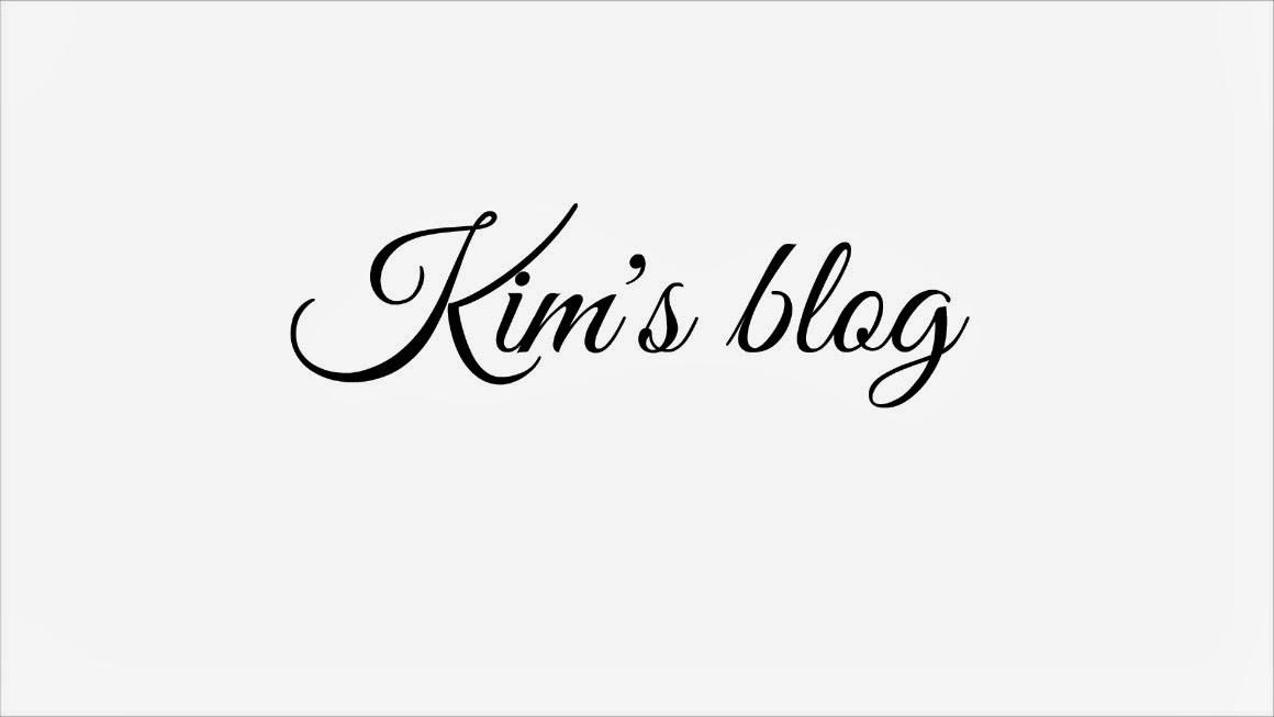Kim's blog