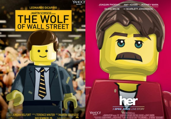 The LEGO Best Movies According to the 86th Academy Awards
