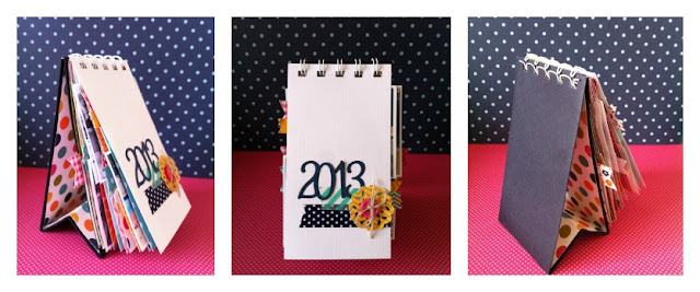 Calendario 2013 reto 46 use it tuesday caroli schulz - Ideas para hacer un calendario ...