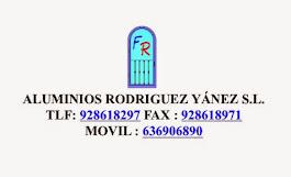 Aluminios Rodríguez Yánez S.L.