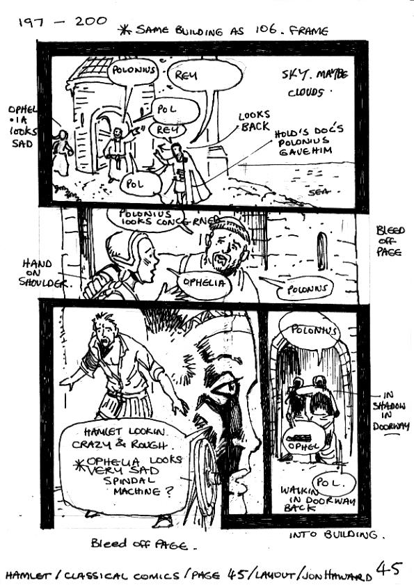 hamlet act 1 scene 1 essay Hamlet act 1,scene 1&2 essayshakespeare wrote hamlet around 1600 in the final years of the reign of queen elizabeth ithe.