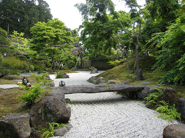 Japanese Zen Garden Thought
