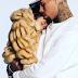 Chris Brown buys $15,000k fur coat for daughter (photos)