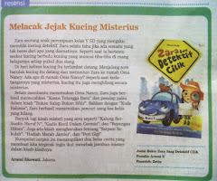"""Resensi Novel Anak """"Zara Sang Detektif Cilik"""""""