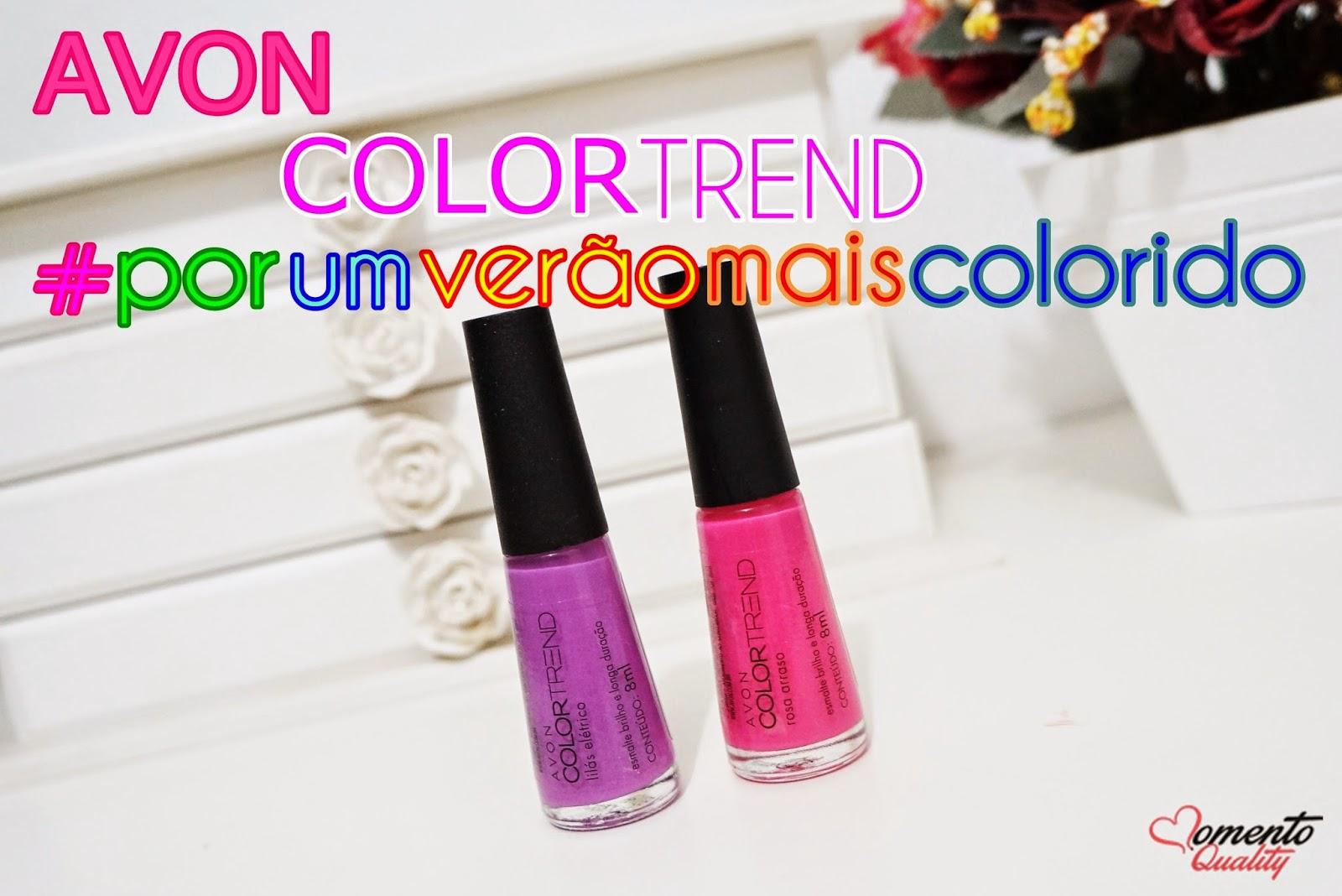 Esmaltes Avon Colortrend Por um Verão mais Colorido