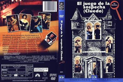 Cover, dvd, carátula: El juego de la sospecha (Cluedo) | 1985 | Clue
