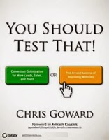You should test that, Chris Goward