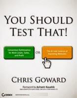 You should test that, Chris Goward