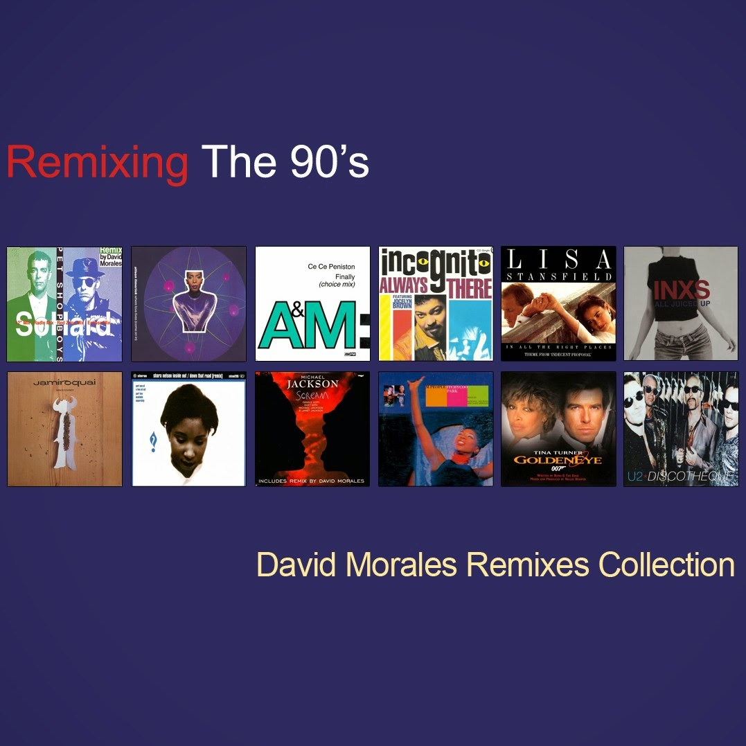 Retro disco hi nrg remixing the 90 39 s david morales for Classic house albums 90s