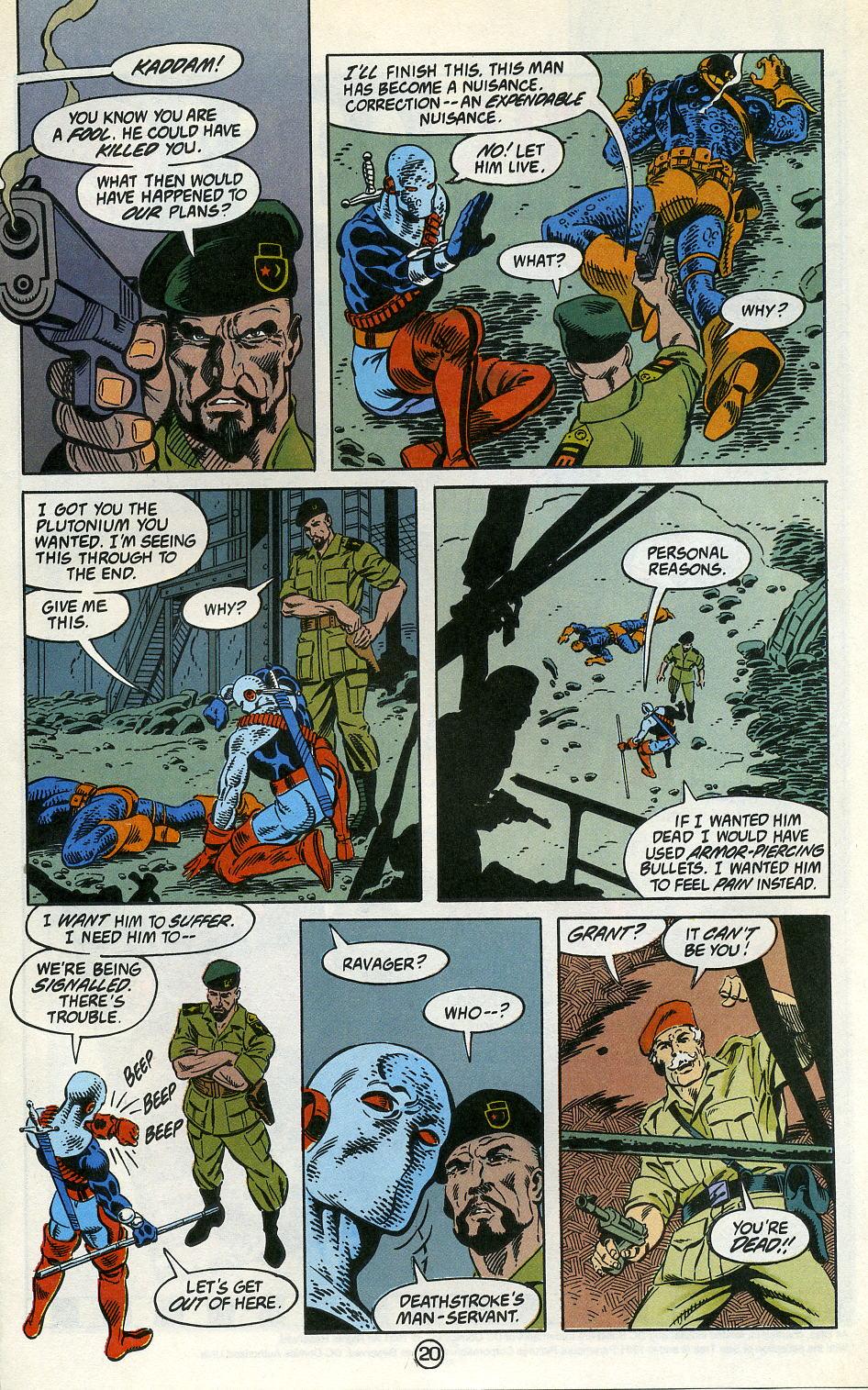 Deathstroke (1991) Issue #3 #8 - English 25