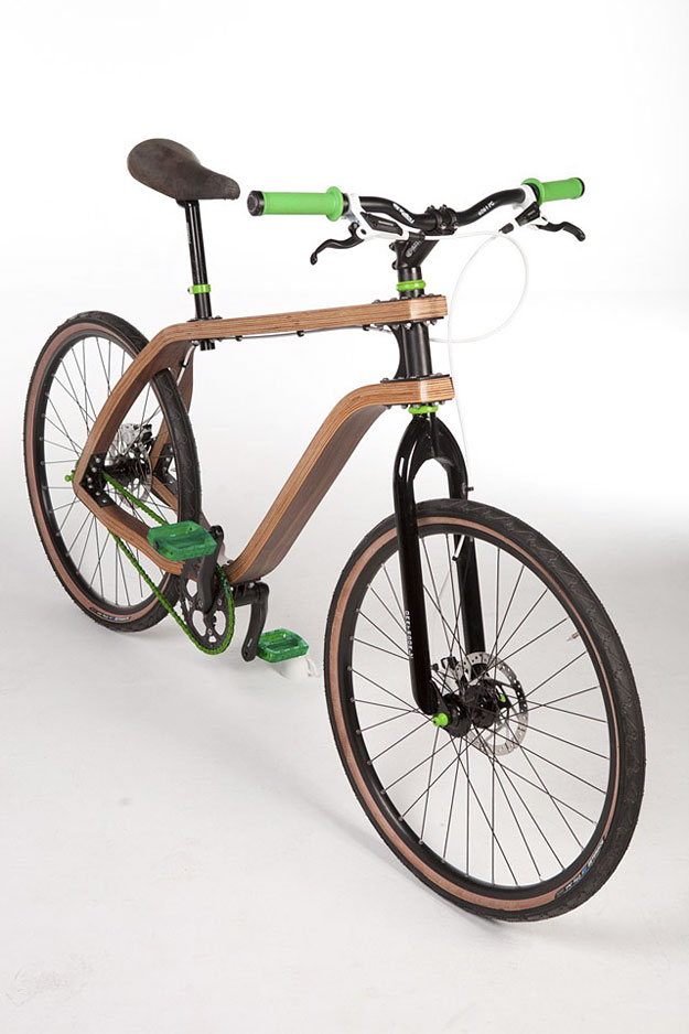 how to make a bike jump out of wood