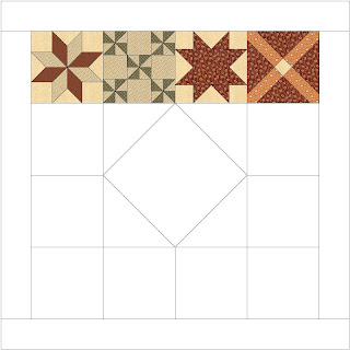Institches With Bonnie Block Of The Month 1800s Quilt May