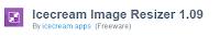 Download Icecream Image Resizer 1.09 Offline Installer